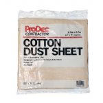 Contractor Cotton Dust Sheet